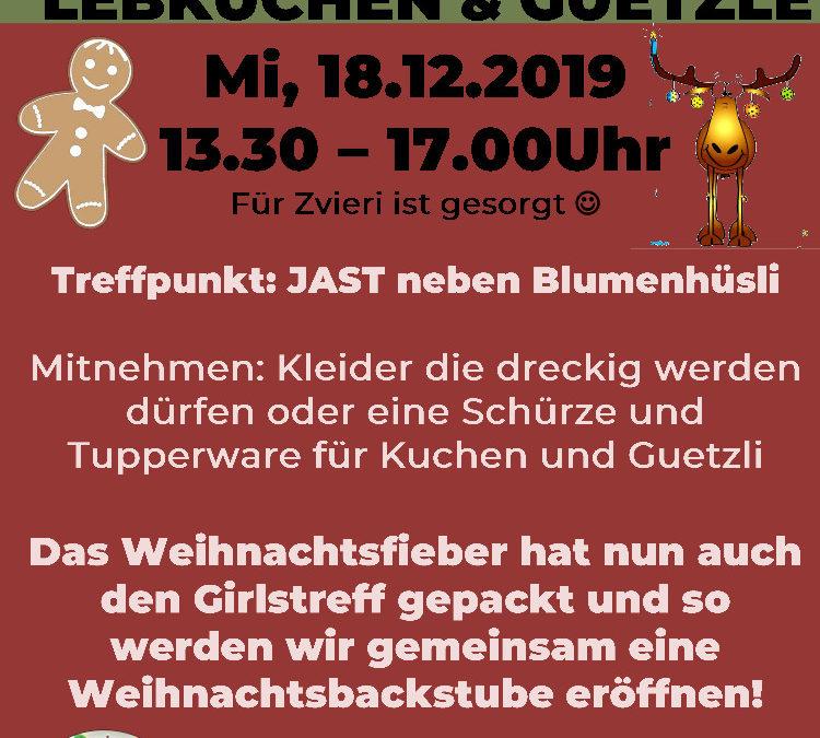 Lebkuchen & Guetzle